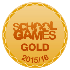 Sainsbury's School Games Gold Award logo