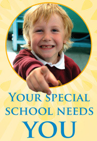 Your Special School Needs You