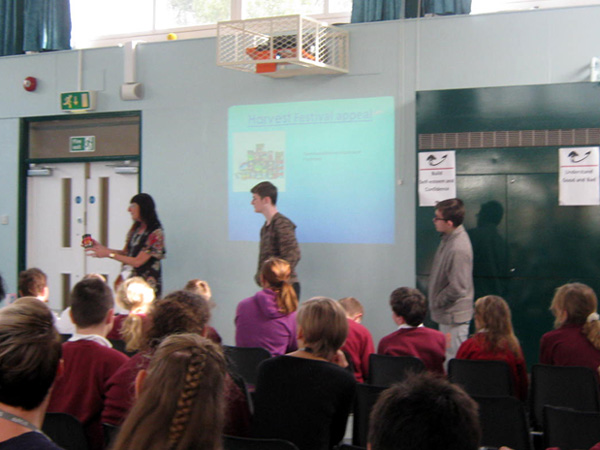 Harvest Festival Assembly by the School Council
