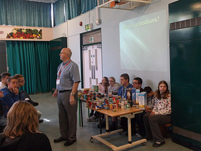 Harvest Assembly supporting Nailsea Foodbank