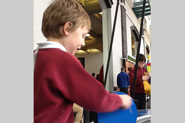 Kingfisher class visit to 'We Are Curious'